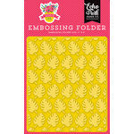 Echo Park - Summer Fun Collection - Embossing Folder - Perfect Palm
