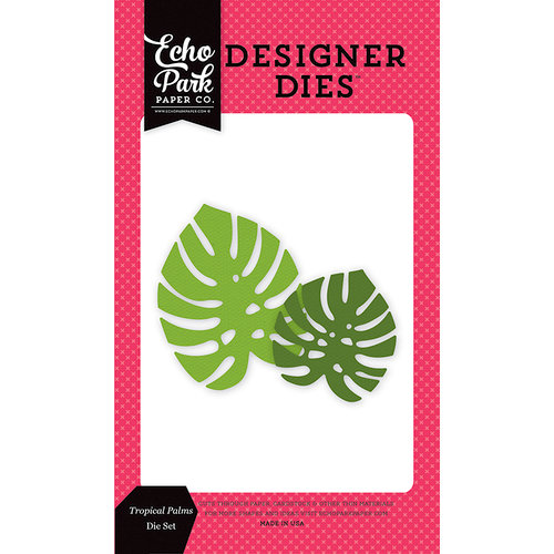 Echo Park - Summer Fun Collection - Designer Dies - Tropical Palms