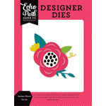 Echo Park - Summer Fun Collection - Designer Dies - Summer Bloom