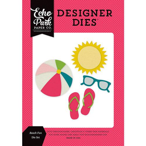 Echo Park - Summer Fun Collection - Designer Dies - Beach Fun