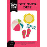 Echo Park - Summer Fun Collection - Designer Dies - Beach Fun