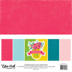 Echo Park - Summer Fun Collection - 12 x 12 Paper Pack - Solids