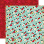 Echo Park - Season's Greetings Collection - Christmas - 12 x 12 Double Sided Paper - Ornaments