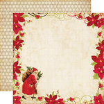 Echo Park - Season's Greetings Collection - Christmas - 12 x 12 Double Sided Paper - Vintage Santa