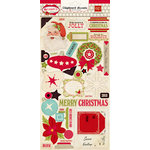 Echo Park - Season's Greetings Collection - Christmas - Chipboard Stickers