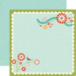 Echo Park - So Happy Together Collection - 12 x 12 Double Sided Paper - Happy Tune