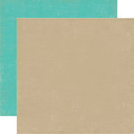 Echo Park - So Happy Together Collection - 12 x 12 Double Sided Paper - Tan