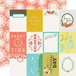 Echo Park - Simple Life Collection - 12 x 12 Double Sided Paper - Happy Day