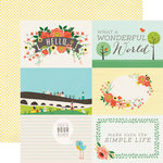 Echo Park - Simple Life Collection - 12 x 12 Double Sided Paper - Wonderful World