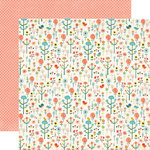 Echo Park - Simple Life Collection - 12 x 12 Double Sided Paper - Merry Meadow