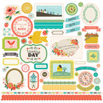Echo Park - Simple Life Collection - 12 x 12 Cardstock Stickers - Elements
