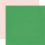 Echo Park - Simple Life Collection - 12 x 12 Double Sided Paper - Green