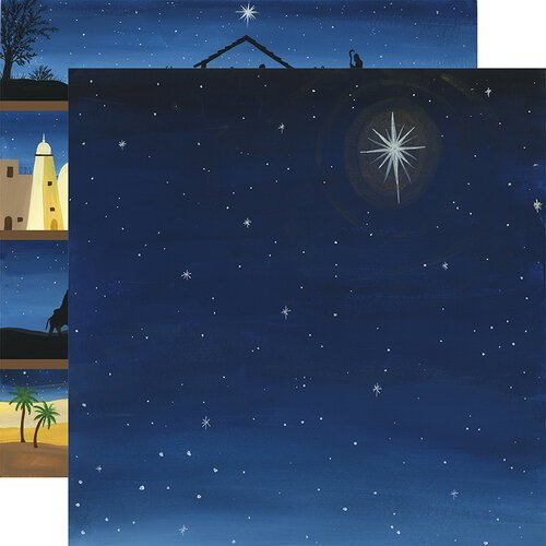 Echo Park - Silent Night Collection - 12 x 12 Double Sided Paper - Silent Night