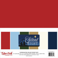 Echo Park - Silent Night Collection - 12 x 12 Paper Pack - Solids