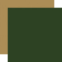 Echo Park - Silent Night Collection - 12 x 12 Double Sided Paper - Green