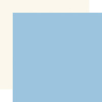 Echo Park - Silent Night Collection - 12 x 12 Double Sided Paper - Light Blue