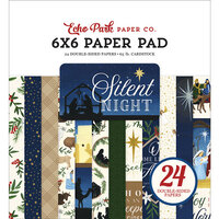 Echo Park - Silent Night Collection - 6 x 6 Paper Pad