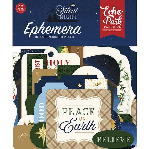 Echo Park - Silent Night Collection - Ephemera