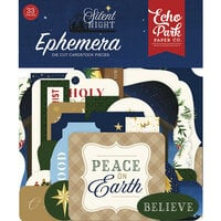 Echo Park - Silent Night Collection - Ephemera