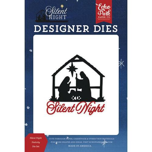 Echo Park - Silent Night Collection - Designer Dies - Nativity