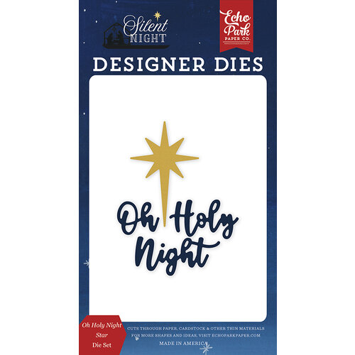 Echo Park - Silent Night Collection - Designer Dies - Oh Holy Night Star