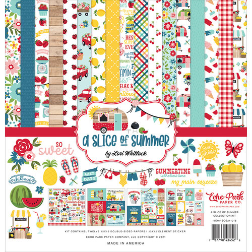 Echo Park - A Slice of Summer Collection - 12 x 12 Collection Kit