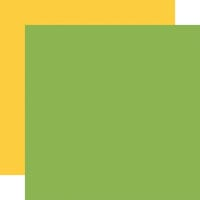 Echo Park - A Slice of Summer Collection - 12 x 12 Double Sided Paper - Green