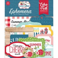 Echo Park - A Slice of Summer Collection - Ephemera