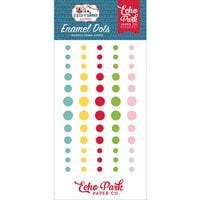 Echo Park - A Slice of Summer Collection - Enamel Dots