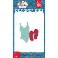Echo Park - A Slice of Summer Collection - Designer Dies - Beach Attire