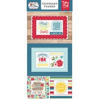 Echo Park - A Slice of Summer Collection - Chipboard Stickers - Frames
