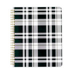 Echo Park - Spiral Notebook - 7 x 8.5 - Manhattan Plaid