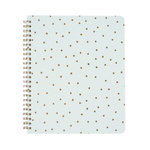 Echo Park - Spiral Notebook - 7 x 8.5 - Gold Dot