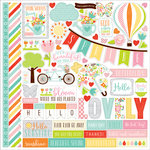 Echo Park - Spring Collection - 12 x 12 Cardstock Stickers - Elements