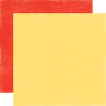 Echo Park - Spring Collection - 12 x 12 Double Sided Paper - Yellow