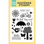 Echo Park - Spring Collection - Clear Acrylic Stamps - Sunshine