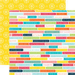 Echo Park - Summer Party Collection - 12 x 12 Double Sided Paper - Vacation Time