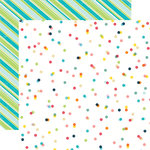 Echo Park - Summer Party Collection - 12 x 12 Double Sided Paper - Celebrate Summer