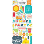 Echo Park - Summer Party Collection - Chipboard Stickers