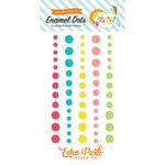 Echo Park - Summer Party Collection - Enamel Dots