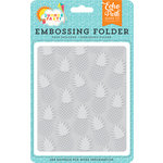 Echo Park - Summer Party Collection - Embossing Folder - Pineapple