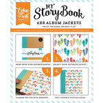 Echo Park - Summer Party Collection - My StoryBook - 6 x 8 Album Jacket - Flip Flops