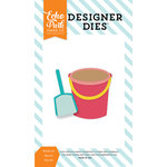 Echo Park - Summer Party Collection - Designer Dies - Bucket and Shovel