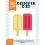 Echo Park - Summer Party Collection - Designer Dies - Popsicles Set 2