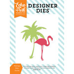 Echo Park - Summer Party Collection - Designer Dies - Flamingo Palm