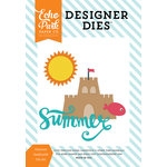 Echo Park - Summer Party Collection - Designer Dies - Summer Sandcastle