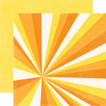 Echo Park - Splash Collection - 12 x 12 Double Sided Paper - Sunshine