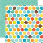 Echo Park - Splash Collection - 12 x 12 Double Sided Paper - Big Dots