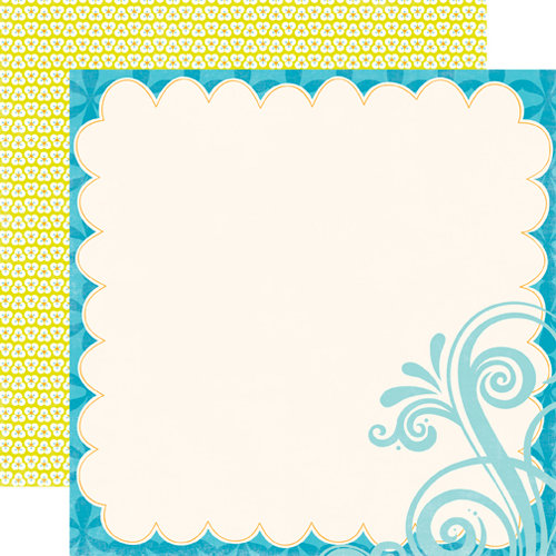Echo Park - Splash Collection - 12 x 12 Double Sided Paper - Diecut
