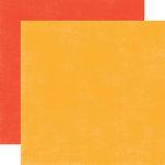 Echo Park - Splash Collection - 12 x 12 Double Sided Paper - Orange